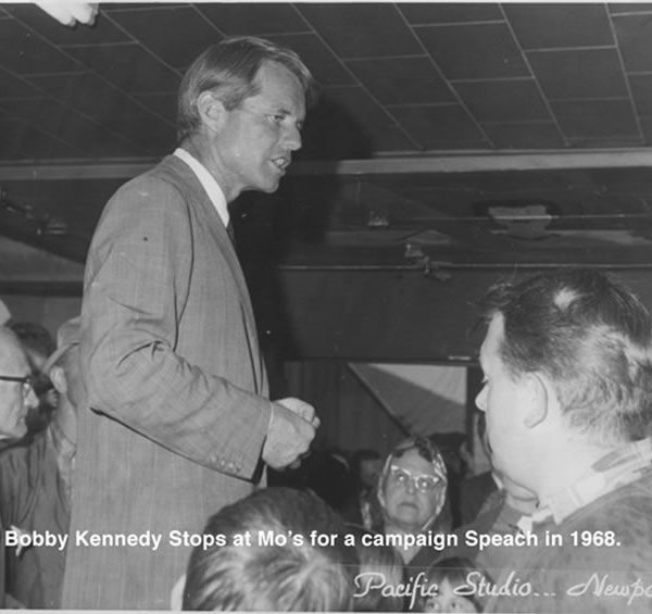 Robert Kennedy loved Mo's